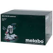 <b>Пила</b> торцовочная <b>Metabo KS</b> 216 M, 1350 Вт, 216 мм в Москве ...