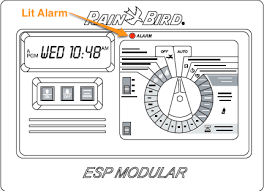 Rain Bird E 6c Programming Chart Rain Bird Esp Timer Troubleshooting Alarm Led Is Lit