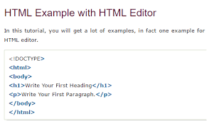 how to display html code in a html page in a formatted manner ...