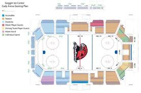 Goggin Arena Seating Chart English 112 Kardisam