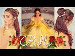 emma watson s belle makeup hair tutorial beauty the beast you
