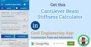 cantilever beam stiffness calculator