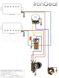 wiring diagram 2 humbuckers 2 volume 1 tone 3 way switch simple irongear pickups wiring wiring diagram 2 humbuckers 2 volume 1 tone 3 way switch