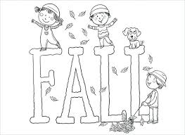 fall coloring sheet fun fall coloring pages this fall lettering color pages can be