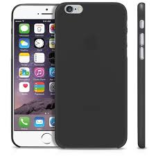 apple iphone 6 black. ibuy apple iphone 6 ultra thin case 0.2 mm - black hitam doff iphone black