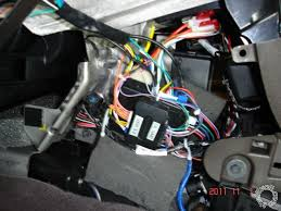 2011 bu install jpg all the necessary connections were at the bcm passenger side of the center console ignition switch harness and one wire to the obd2 diagnostics plug