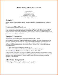 99 Store Manager Resume Example Resume Sample Retail Store