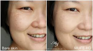 mufe hd foundation before after