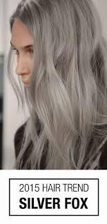 De Nieuwe Trend Grijs Haar Haar Grijs Haar Haarkleur En