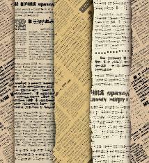 Old Newspapers Wallpaper Print Image