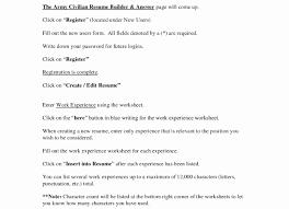 Resume Builder Military Military Resume Builder Best Of Military Resume Builder Free Longer 9