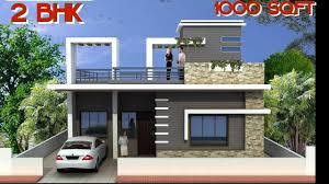 Simplex House Elevation Designs 25 X 40 House Plan 1000 Sq Ft House Simplex House Design 2bhk Indian House Indian Row House Design
