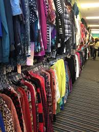 i m not kidding they have everything you can imagine from guess joggers to free people leather pants most of the is young women s clothing