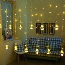 fairy light curtain wish ball globe led string lights curtain string fairy light backyard patio decorative fairy light