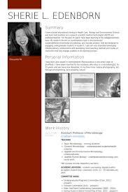 Assistant Professor Resume Samples - Visualcv Resume Samples Database