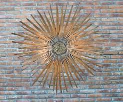 outdoor wall hangings metal art ideas design sun higher designs melbourne