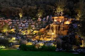 feature lighting ideas. Water Feature, Pond And Pool Lighting Ideas Pictures Feature Lighting Ideas