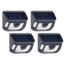 Westinghouse Solar Security Light 4 Pk Westinghouse 10 600 Lumen Solar Motion Sensor Lights