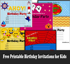 How To Make Printable Invitations 90 Free Printable Birthday Invitations For Kids And Adults
