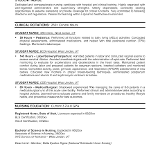 Bsc Resume Sample Unbelievable Resume Examples Nursing Cv Sample For Nurses Rn Nurse 52