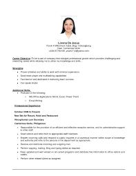 Comfortable Resume Registered Nurse Philippines Pictures
