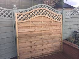 6ft wooden fence panel forest europa prague