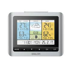 <b>Baldr Wireless Weather Forecast Station</b> LCD Color Screen ...