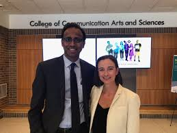 """Prabu David on Twitter: """"Working in the male-dominated sports and  entertainment industry as a female can be challenging. See how  @MSUComArtSci alum Vanessa Shay is changing the game. #SpartansWill  #ComArtSci @MSUAdPR @vanesshay"""