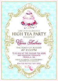 tea party templates victorian tea party invitations tea party invitation cards templates