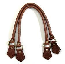 com byhands embossed leather purse handles bag handles brown 18 25 22 4701 e