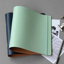 leather a5 ring binder