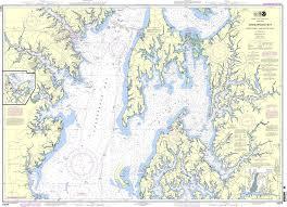 Chesapeake Bay Maps Charts Noaa Chart 12270 Chesapeake Bay Eastern Bay And South River Selby Bay