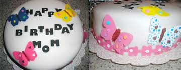 Happy Birthday Mom Dad And Daughters Decorate A Sweet Surprise