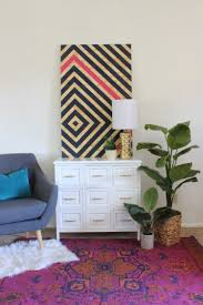 Wall Art For Living Room Diy 13 Creative Diy Abstract Wall Art Projects Lolly Jane