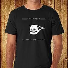 Express Dress Shirt Size Chart New Kraftwerk Trans Europe Express Electro Music Mens Black T Shirt Size S 3xl Ebay
