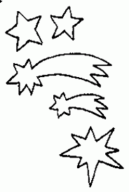 Small Picture Shooting Star Outline Clipartioncom