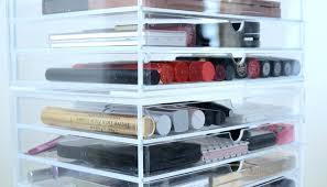 muji drawer organizer muji 5 drawer acrylic storage