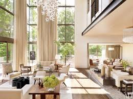 Paint For Living Room With High Ceilings Living Room High Ceiling Living Room Lighting Ceilings Ideas