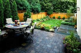 simple garden patio ideas elegant backyard inexpensive of