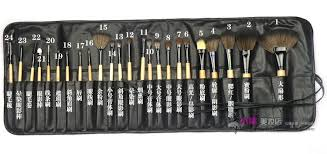 aliexpress professional 24 pcs makeup brushes set cosmetic makeup brushes kit make up brush set with bag make up brushes pincel maquiagem from