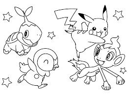 Pokemon Pikachu Animaux Coloriages Pokemon Coloriages Pour Enfants