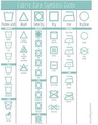 Laundry Symbols Guide D  One Good Thing By Jillee