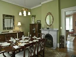Perfect Dining Room Paint Ideas With Accent Wall The George Lord Little House Kennebunk Maine Throughout Decorating