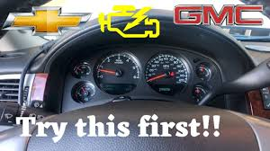 Check Engine Light Chevy Avalanche Chevy Truck Check Engine Light On P0521 P0523