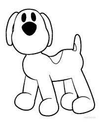 Small Picture Pocoyo Coloring Pages fablesfromthefriendscom