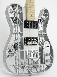 <b>The</b> world's first 3D printed aluminium <b>guitar</b>! - 3D <b>Printing</b> Industry