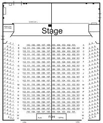 Don Gibson Theater Seating Chart Seating Chart Don Gibson Theatre