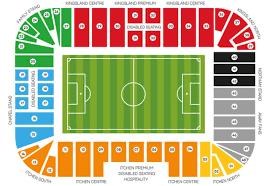 Uk Football Stadium Seating Chart Southampton Fc Seating Map Southampton Fc