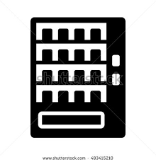 Vending Machine Clipart Delectable Automatic Vending Machine Flat Icon Apps Stock Vector Royalty Free