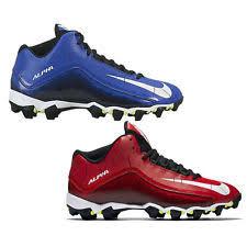 lebron cleats football. mens nike alpha shark 2 3/4 football cleats - choose size \u0026 color 9.5 red lebron